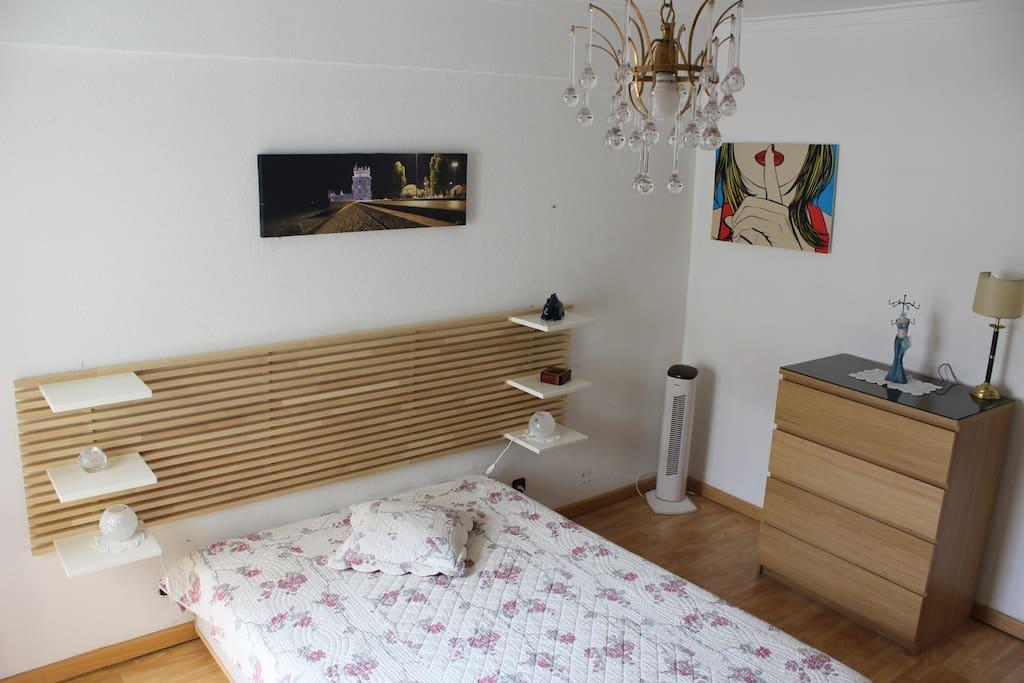Chambre et literie rénovées à l'été 2015