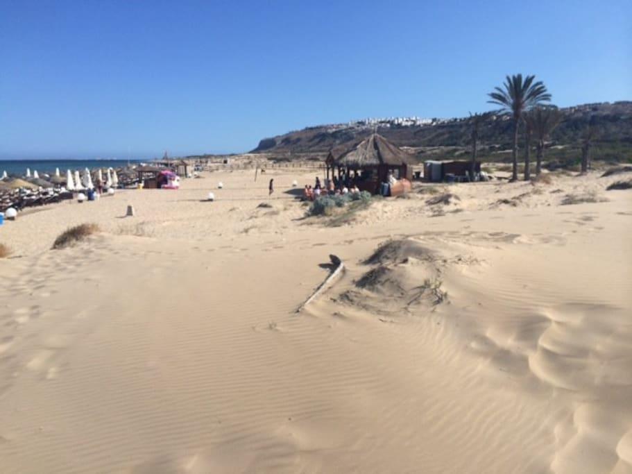 Playas de Arenales del Sol y Carabasí, Elche