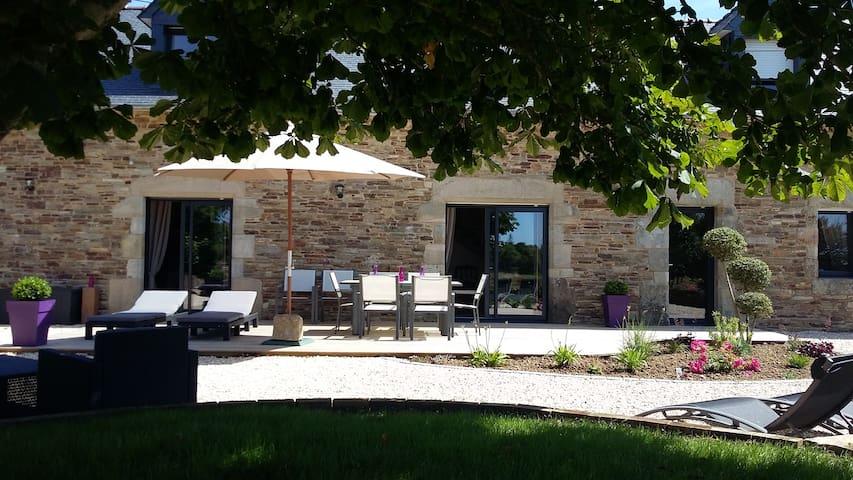 Le Gîte de Kermal - Finistère sud - bannalec - 一軒家