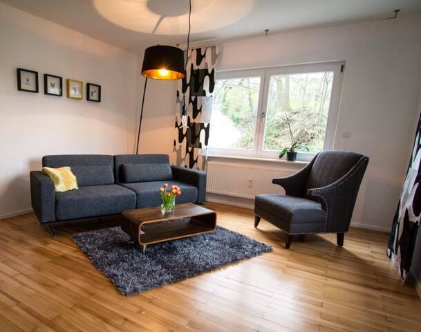 ÜberNacht am Talbach/Wohnung EINS mit Gartensauna - Offenburg - Apartment