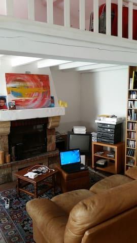Charmant studio atypique