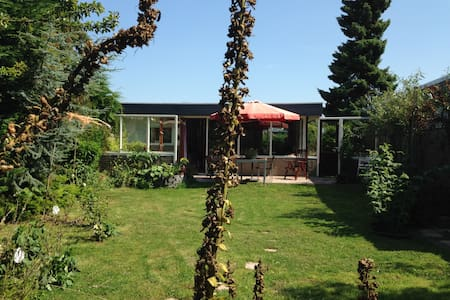 cosy work/retreat/temporary stay house near sea - Sint Maartensvlotbrug - Kabin