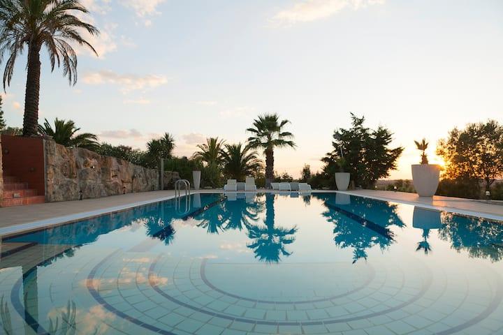 Luxury Sani Villa with a nice Pool!