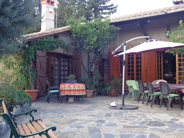 Cozy self-catering or B&B with pool - Espira de l'Agly - Daire