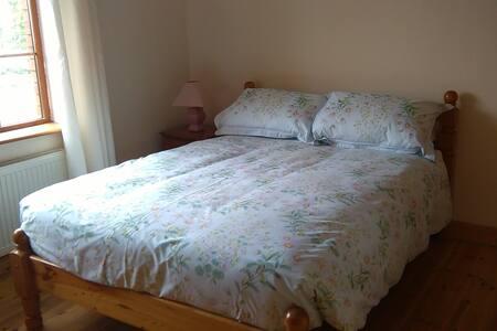 Cosy double en suite bedroom.