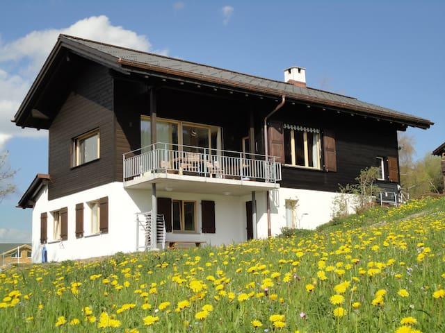 Alleinstehendes Ferienhaus - Obersaxen - Huis
