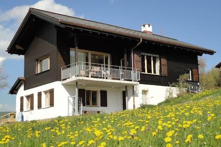 Alleinstehendes Ferienhaus - Obersaxen - Haus