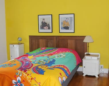 Comfortable room in old farmhouse - Le Val-d'Ajol - Bed & Breakfast