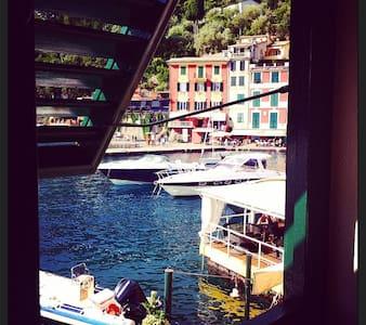 pieds dans l'eau in Portofino - Portofino