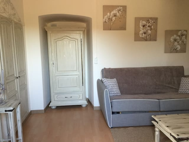 Delightful duplex apartment 8 kms from Corte