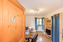 Room 2 with shared kitchen / bath