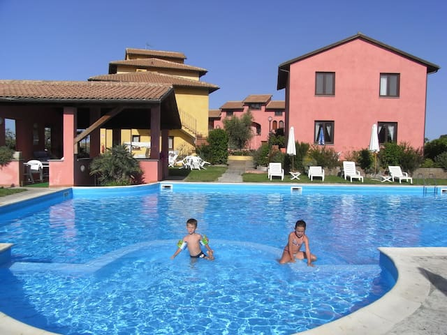 Apartment  with a swimmingpool - Fonteblanda - Leilighet
