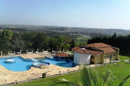 Chácara tranquila com Vista para a Natureza - Águas de São Pedro - Apartment