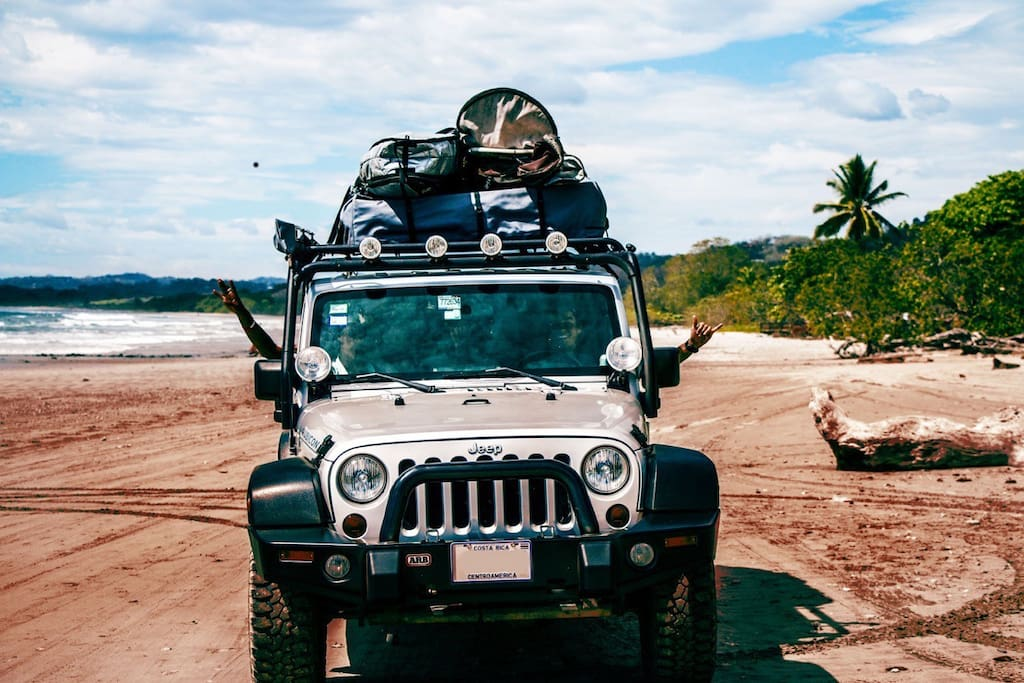 Access all of Costa Rica with real 4x4 Capabilities! Surf trip essential to get away from the typical crowded beaches.