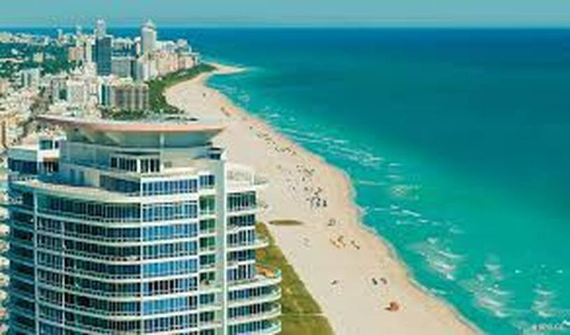 Beautiful apartment in South Pointe - Miami Beach - Bed & Breakfast
