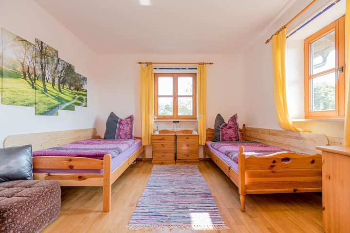 quiet apartment in the countryside - Burgkirchen an der Alz - Appartement
