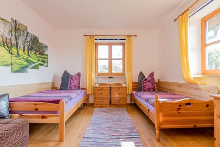 quiet apartment in the countryside - Burgkirchen an der Alz - 公寓