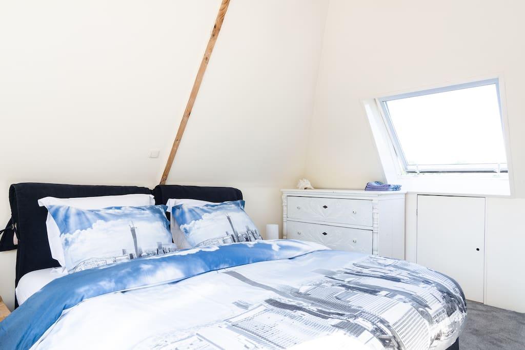 Master bedroom with plenty of daylight