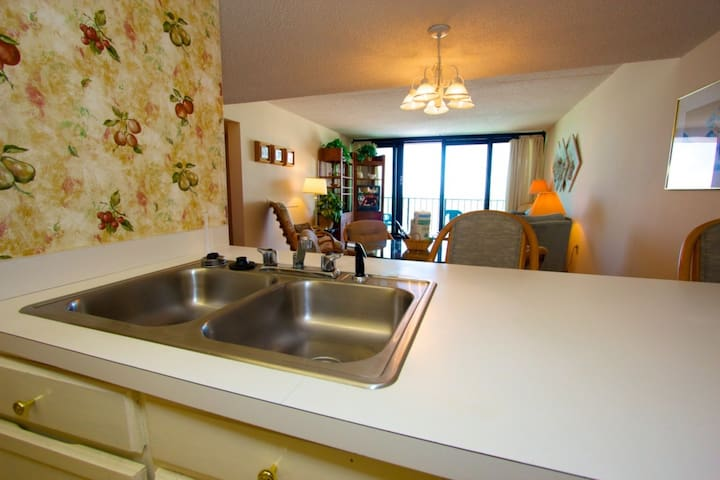Perfect Fifth Floor View, Oceanfront 2BR, Family Friendly Rates! - Garden City - Apartament