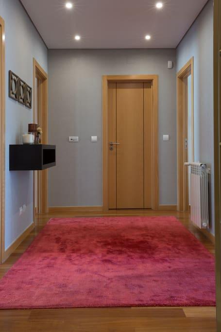 Hallway - lower floor