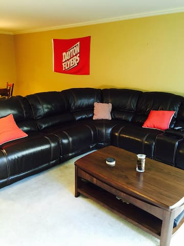 New Leather couch!
