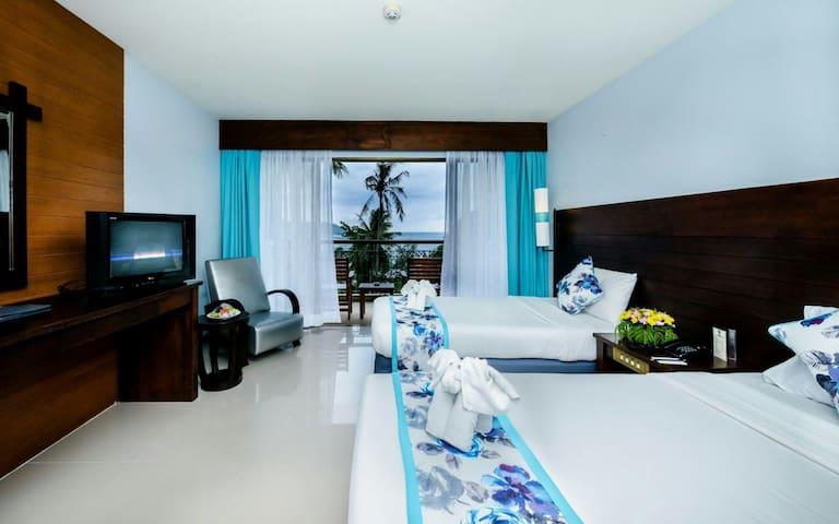 Deluxe seaview room - Karon - Дом