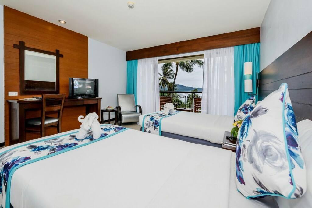 Deluxe room seaview kata beach