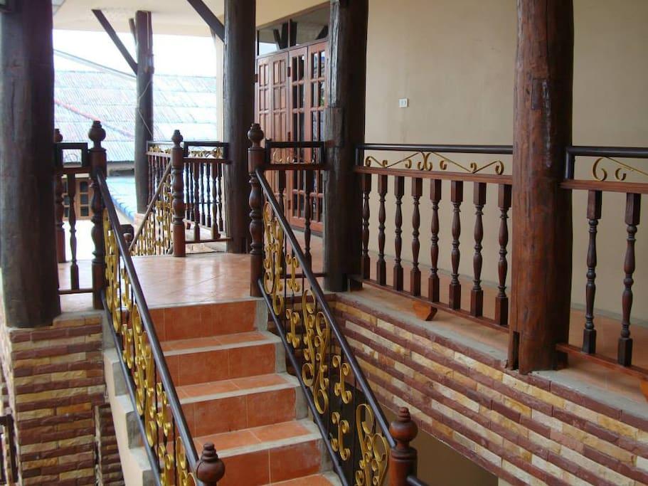 Second floor lodging
