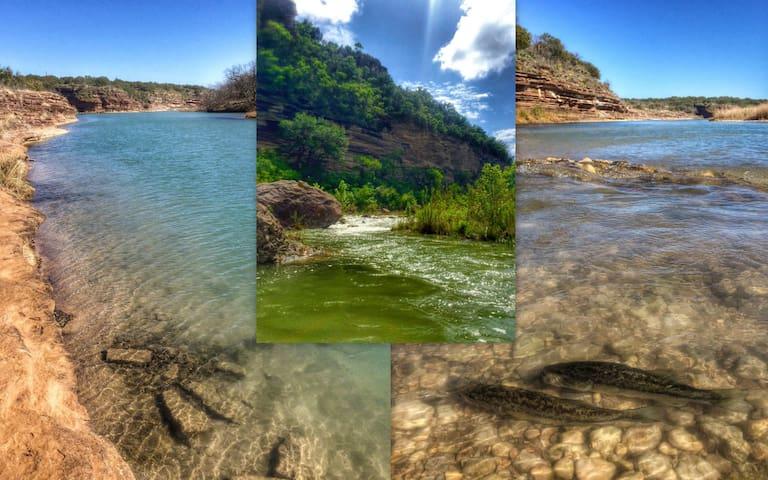 Llano River Cabin - 1 BR