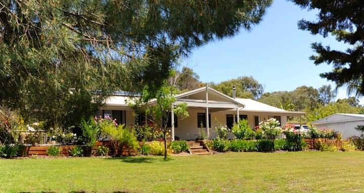 Stratham Retreat Garden View Room.