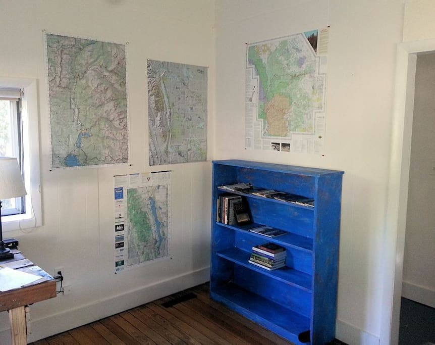 Adventure corner -- maps and books for exploring the Poudre River, Lory and Horestooth Parks, Rocky Mtn. National Park, and beyond