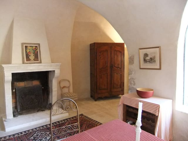 Provencal Chateau in the Luberon - Céreste - Apartment