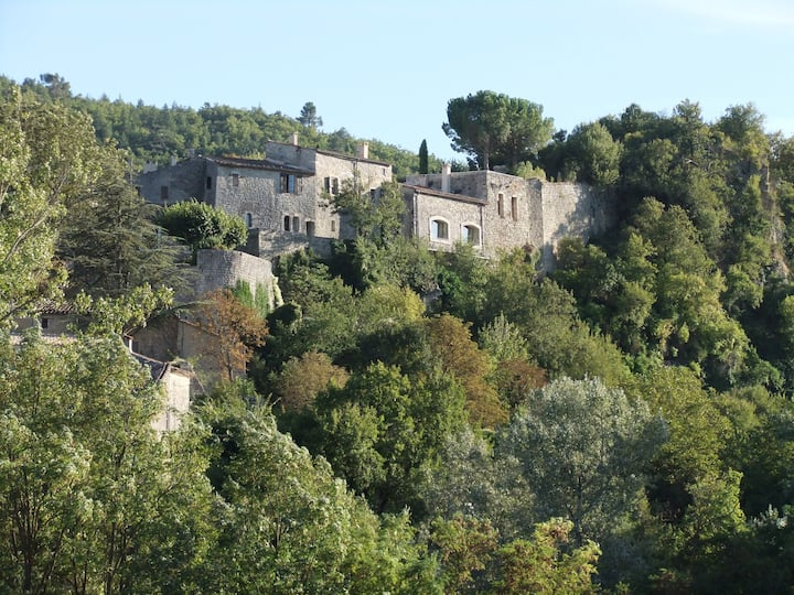 Provencal Chateau in the Luberon