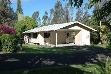 Clean, well kept house near Pahoa - Pāhoa - House