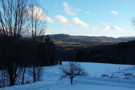 Vermont Views - Montgomery - Blockhütte