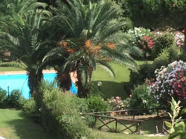 Grazioso Bilocale con piscina - Punta Ala - Dům
