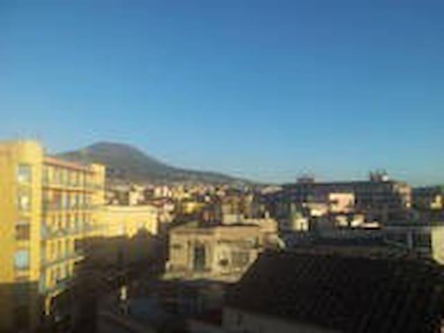camera singola 3 letti + bagno - San Giorgio a Cremano - Flat