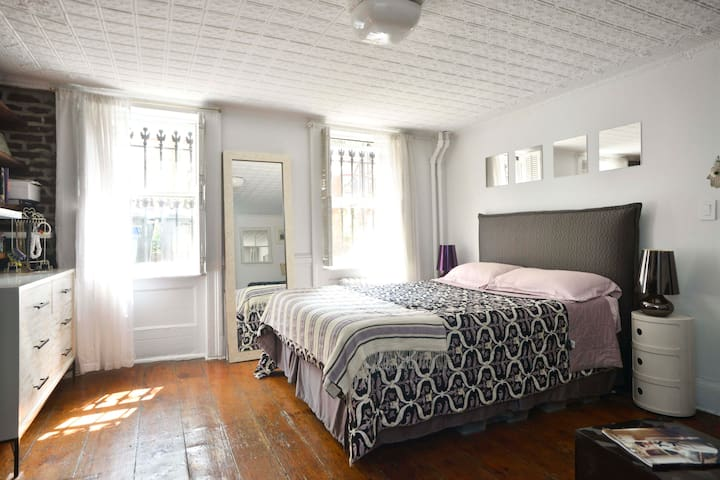 Garden Apt in Historic Brownstone! - Brooklyn - Leilighet