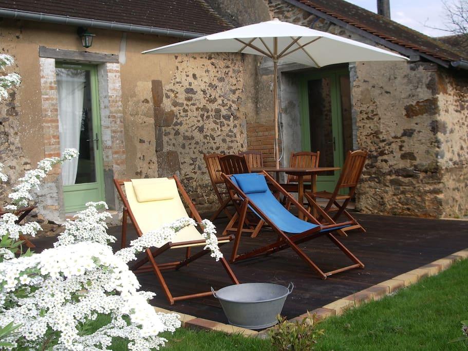 maison de charme et de tradition case in affitto a saint jean d 39 ass paesi della loira francia. Black Bedroom Furniture Sets. Home Design Ideas