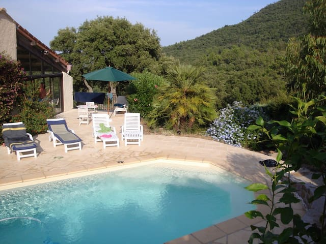 Villa with pool in Les Adrets - Les Adrets-de-l'Estérel - Hus