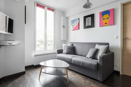 Bright and Cosy 1 Bedroom -10 mins Marais by metro