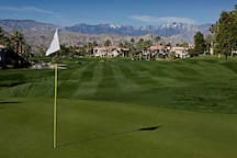 Golf course on property