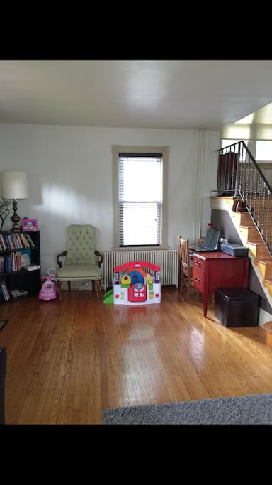 Additional space in the Large Family Room for the kids to play while you relax on the couch.  Or enjoy doing some remote work on the desk while the sun shines through the window!