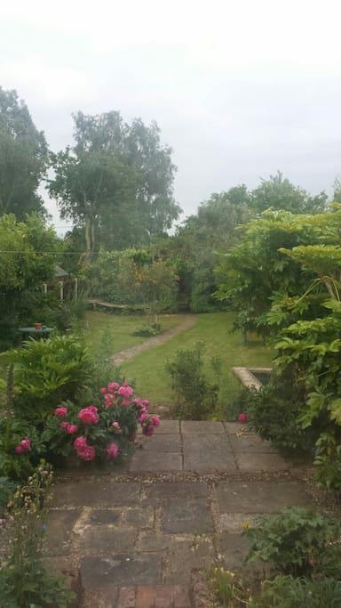Large garden to enjoy.