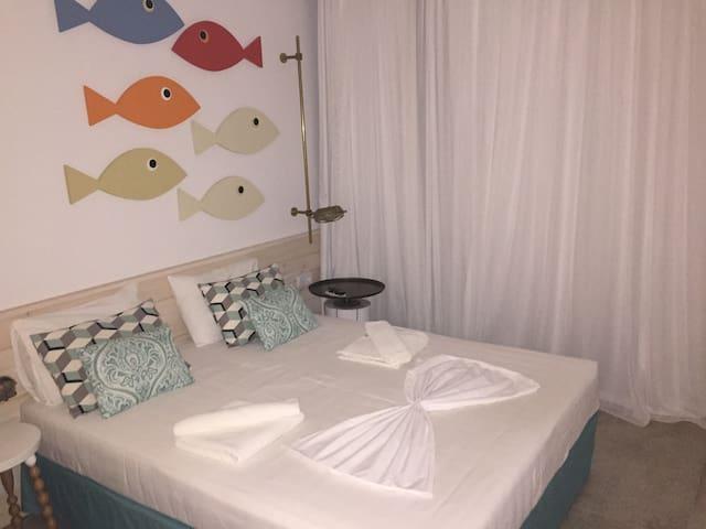deluxe room - Φαληράκι - Bed & Breakfast