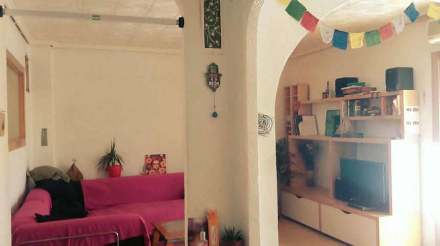 Acogedor Piso en benimaclet a 15 min del centro - València - Leilighet