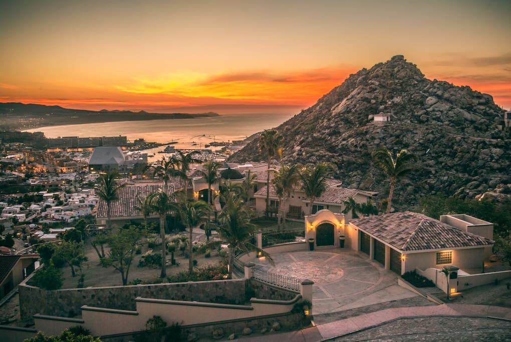 Cabo San Lucas Sunrise at Villa Las Palmas