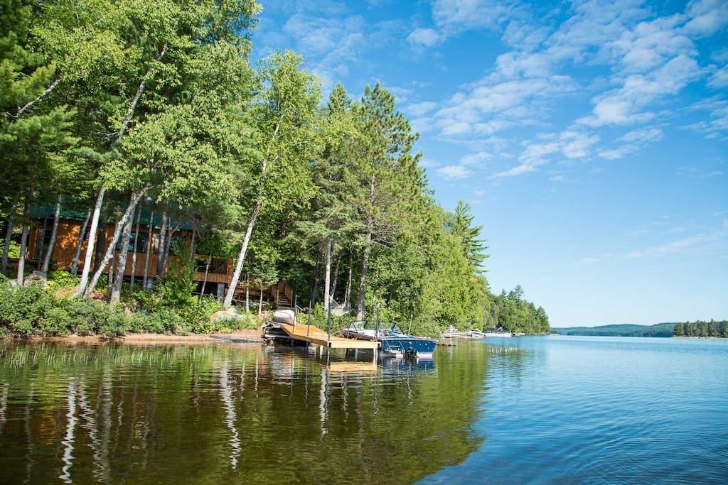 Lakefront Pine Cottage Aylen Lake Cabins For Rent In