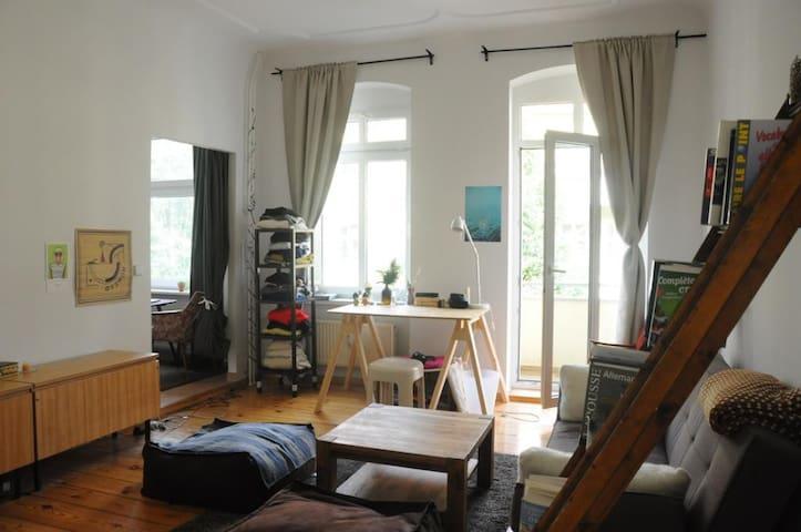 Charming studio in Schillerkiez
