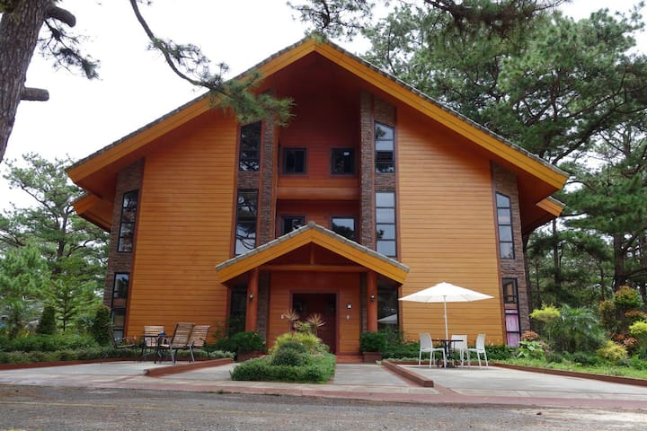 Unit A1, Forest cabin, camp johnhay - 바기오 - Condominio